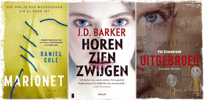 Daniel Cole, JD Barker, Pat Craenbroek, LS, De Boekerij, Paris Books