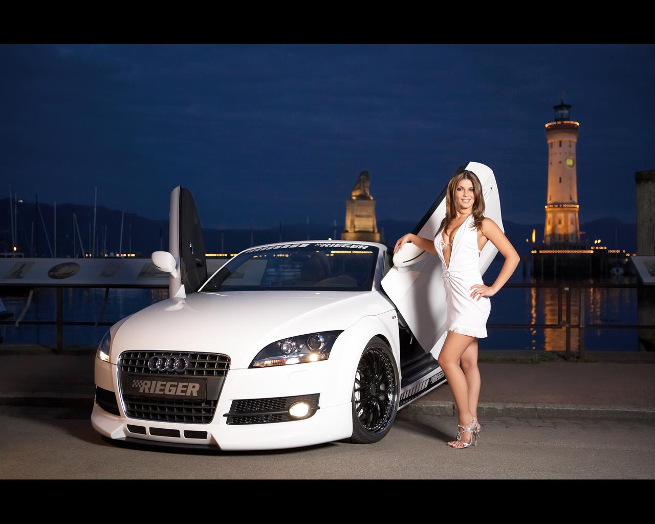 hot girls cars