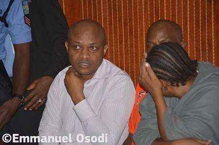 PHOTOS Of Evans & His Gang In Court Today