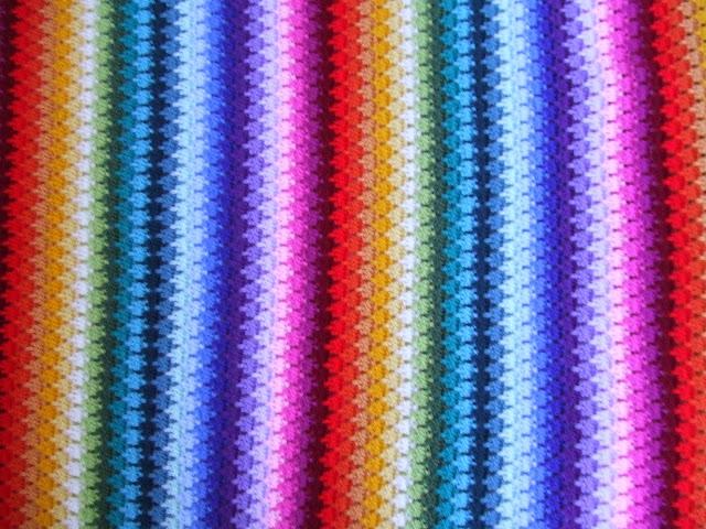 My World Of Crochet Tadaaaah Die Larksfoot Decke Ist Fertig