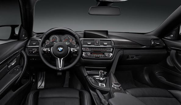 2016 BMW M4 Coupe DCT Interior