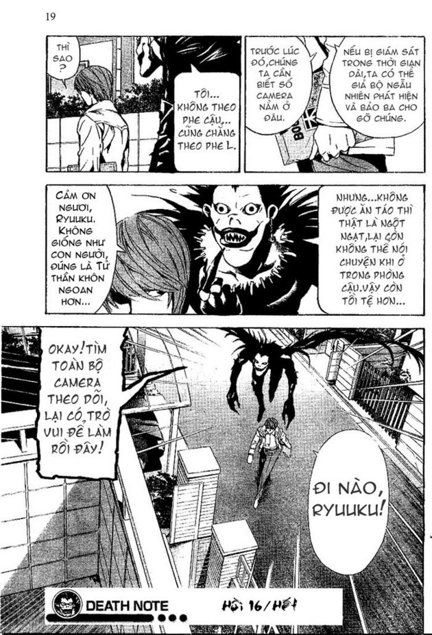 Death Note chapter 016 trang 20