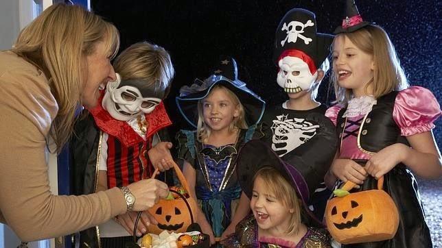 La divertida noche de Halloween