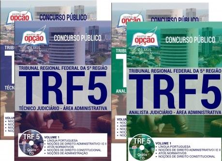 Apostila do concurso TRF-5ª Região - Técnico e Analista Judiciário