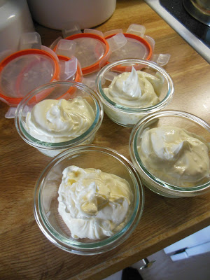 Homemade soft butter, all natural and soft right out of the refrigerator. No more torn bread!