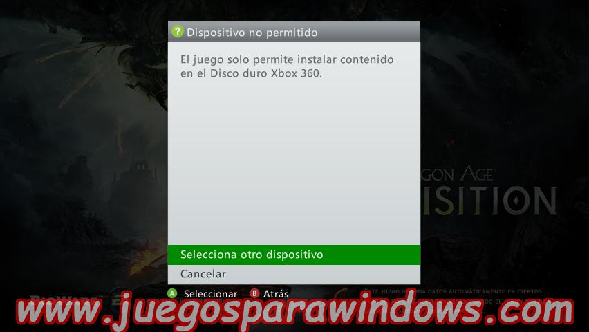 Dragon Age Inquisition Multilenguaje ESPAÑOL XBOX 360 (Región FREE) (COMPLEX) 4