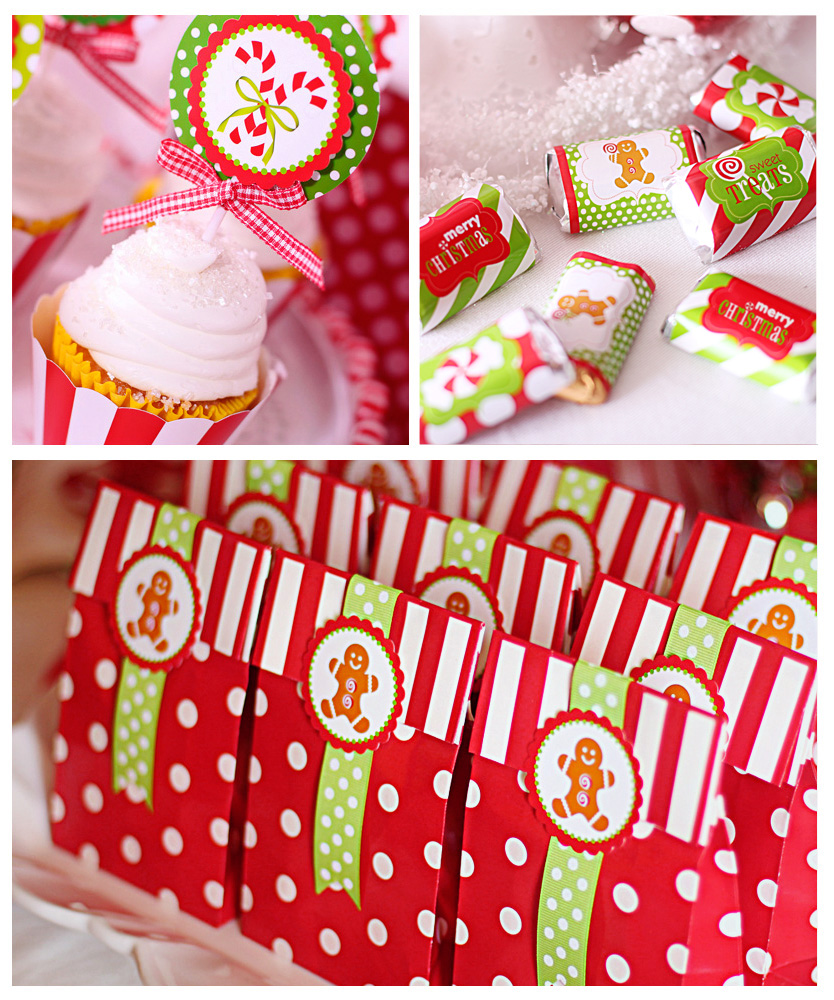 Giveaways For Christmas Party: Amanda's Parties To Go: Candy Christmas Dessert Table