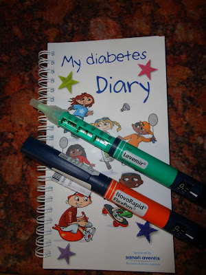 My Diabetes Diary and FlexPen Insulin