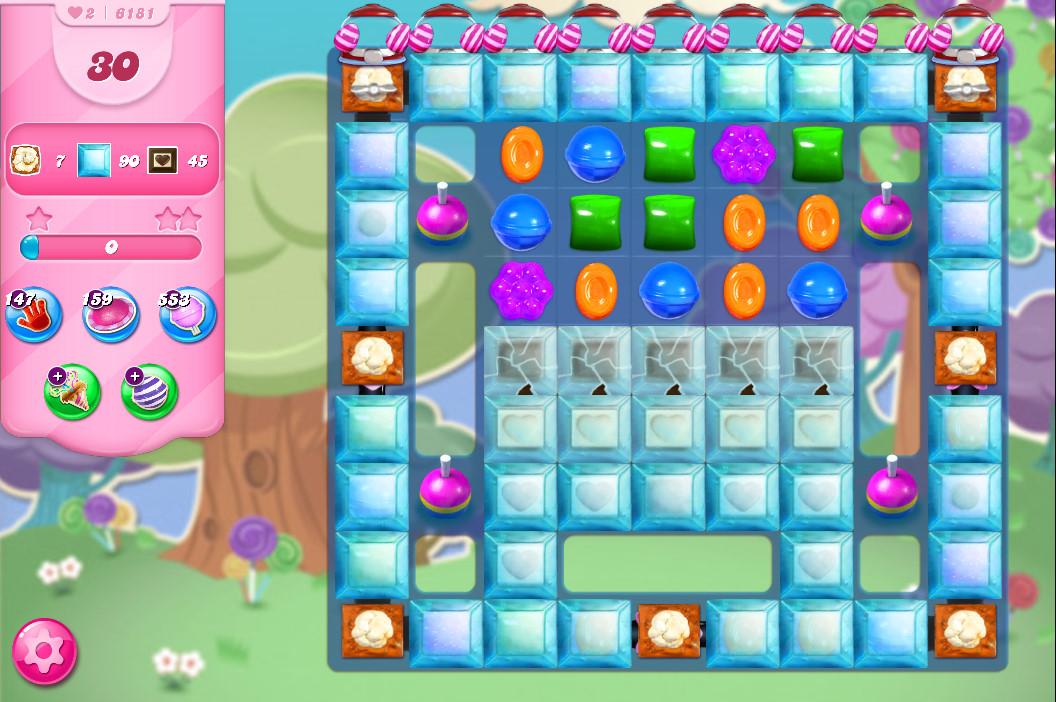 Candy Crush Saga level 6181