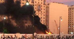 isis suicide bombers attack saudi