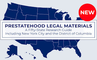 Prestatehood Legal Materials image