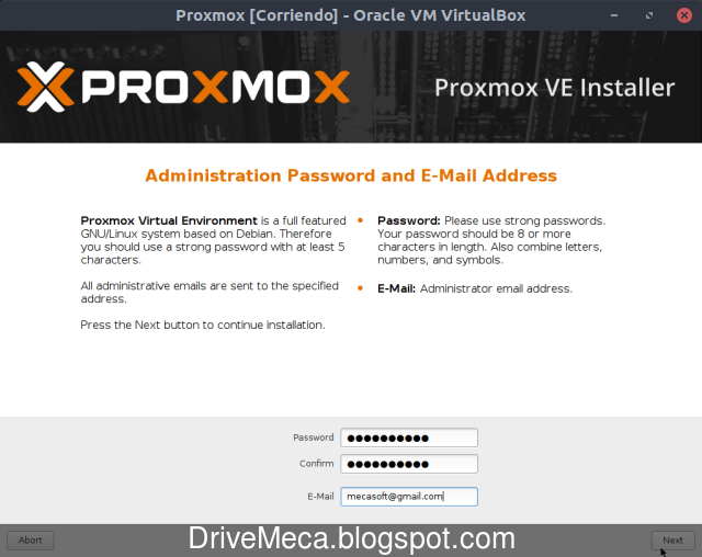 Como instalar Proxmox VE
