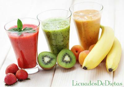 Esta receta de batido con frutas es excelente para fortalecer tus defensas, mejor a a su vez tu sistema sanguíneo, y es un excelente antioxidante