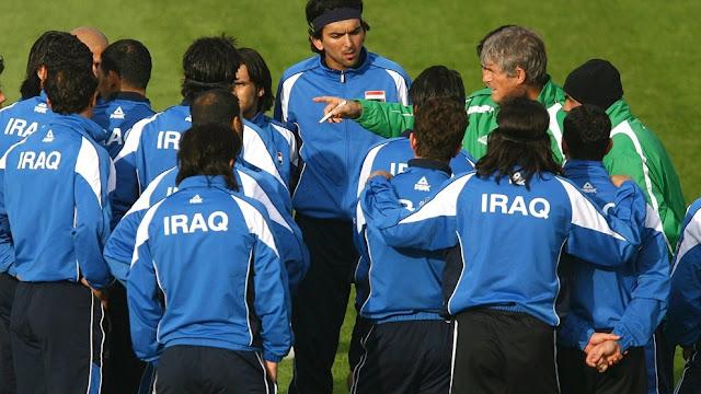 La selección de Futbol de Irak en 2009