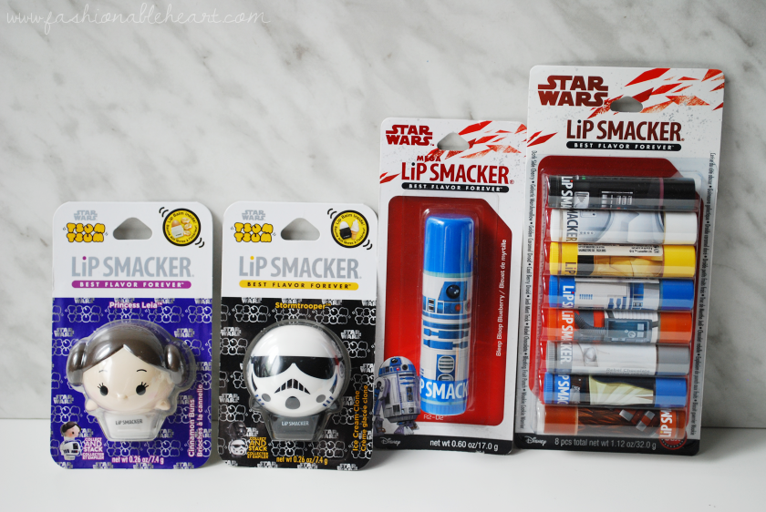 bbloggers, bbloggerca, beauty blog, disney, star wars, tsum tsum, lip smacker, princess leia, storm trooper, r2d2, c3po, chewie, chewbacca, han solo, darth vader, lip balm, ice cream clone, cinnamon buns, wookie cookie warrior, dark side cherry