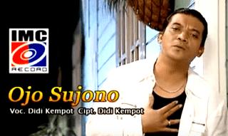 Lirik Lagu Ojo Sujono - Didi Kempot
