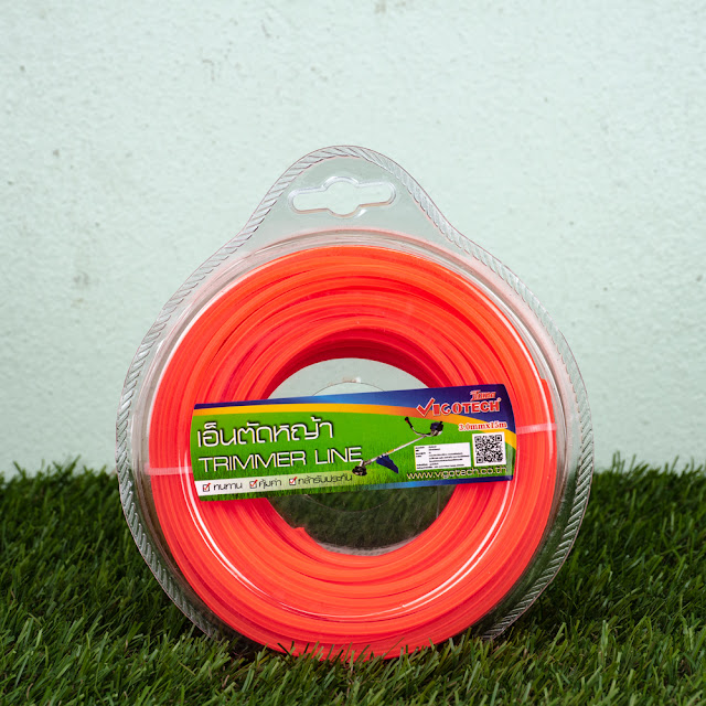 เอ็นตัดหญ้า แบบหกเหลี่ยม 3.0 มิล 15 เมตร