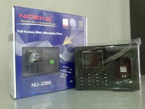 Mengatasi error log pada fingerprint Nideka NU 2366