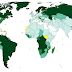 Trees per person across the world, mapped