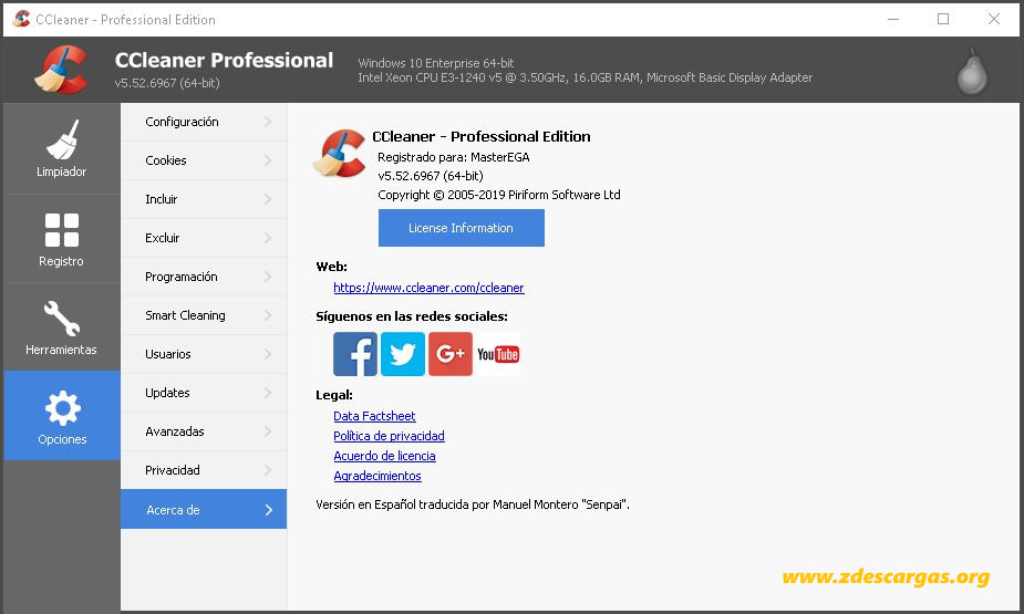 CCleaner Professional Plus Full Español