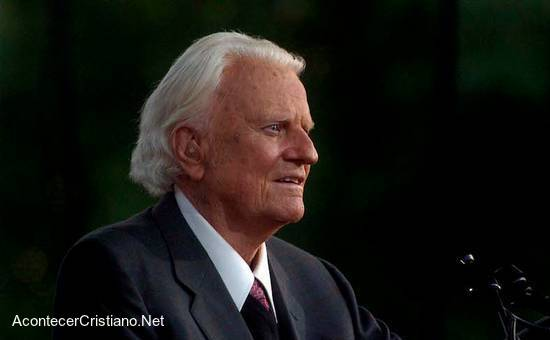 Billy Graham hombre más admirado en Estados Unidos