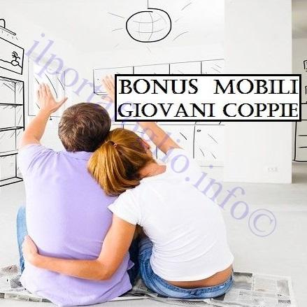 bonus mobili giovani coppie per acquisti fino al 31 dicembre 2016