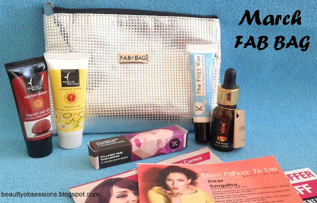 Fab Bag March 2016 - Review