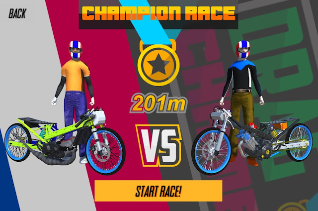 Drag King – 201m thailand racing game