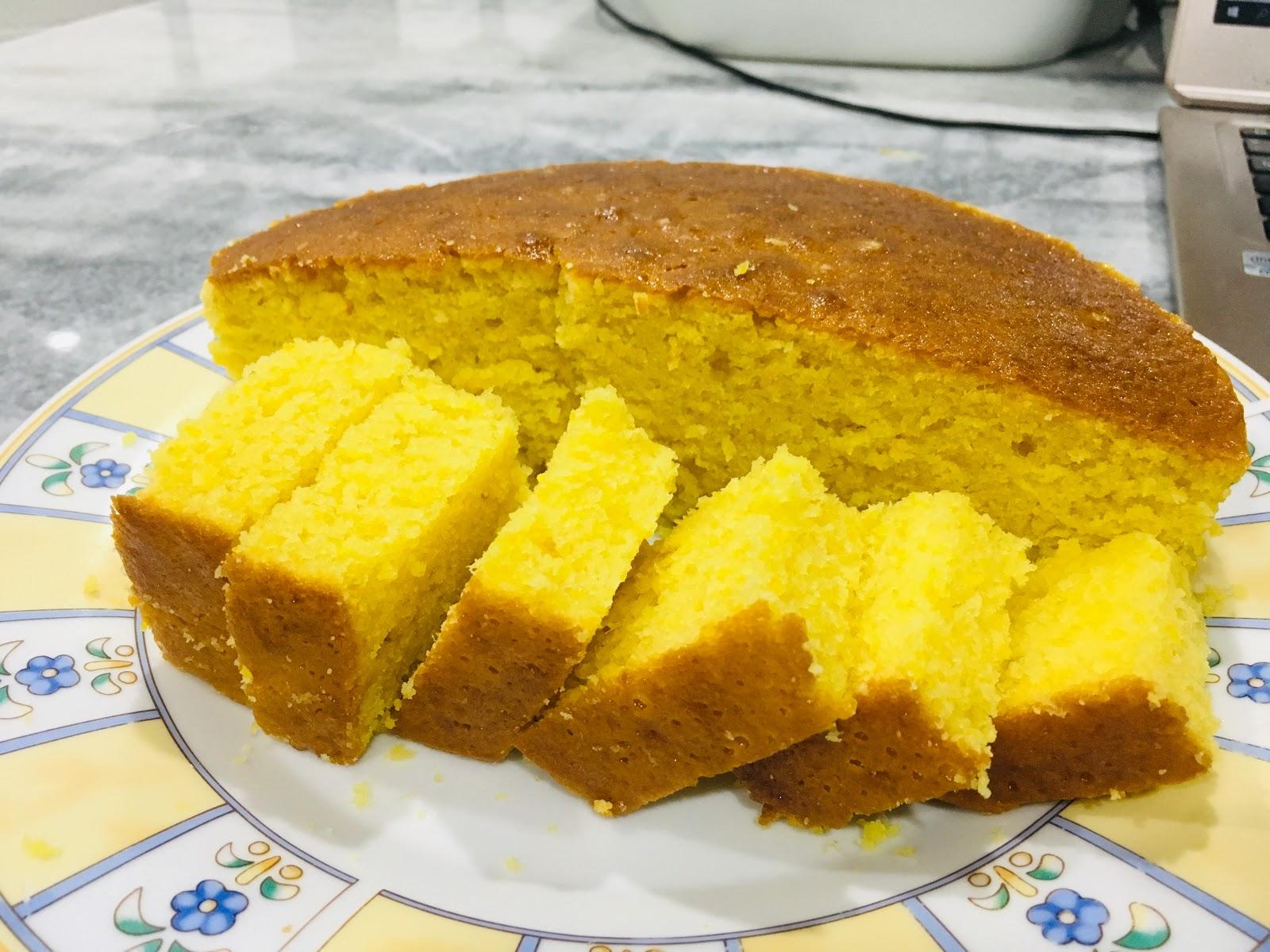 Kek Oren Sunquick Lebih Moist Dengan Resepi Baru Blogger Cik