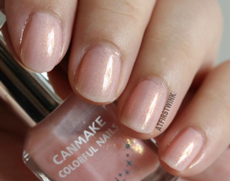 Canmake Colorful nails nail polish no. 43 close up shade
