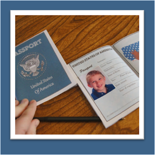 printable passports for kids