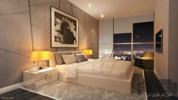 غرف نوم تركية كاملة 2016,غرفة نوم تركية كاملة للبيع, صناعة مصرية, غرفة نوم ابيض في اسود