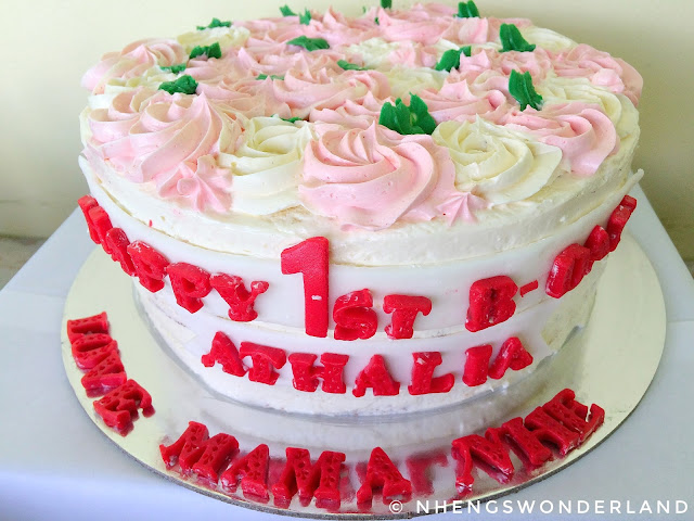 Khayil's Bakeshop - Vanilla Birthday Cake