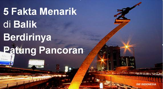5 Fakta Unik Patung Pancoran-infindonesia.blogspot.com