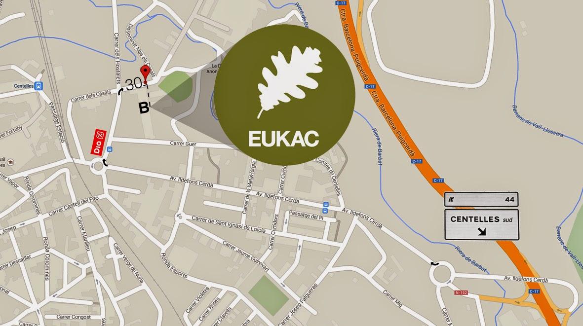 EUKAC aspiracion centralizada plano acceso
