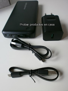 Power Bank Ravpower tipo-C