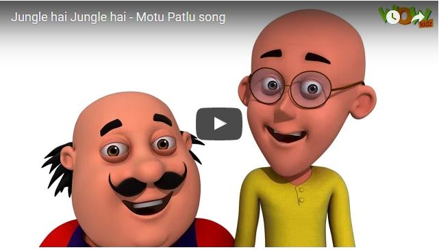 Jungle Hai Jungle Hai Watch Song Motu Patlu Free Download Cartoons