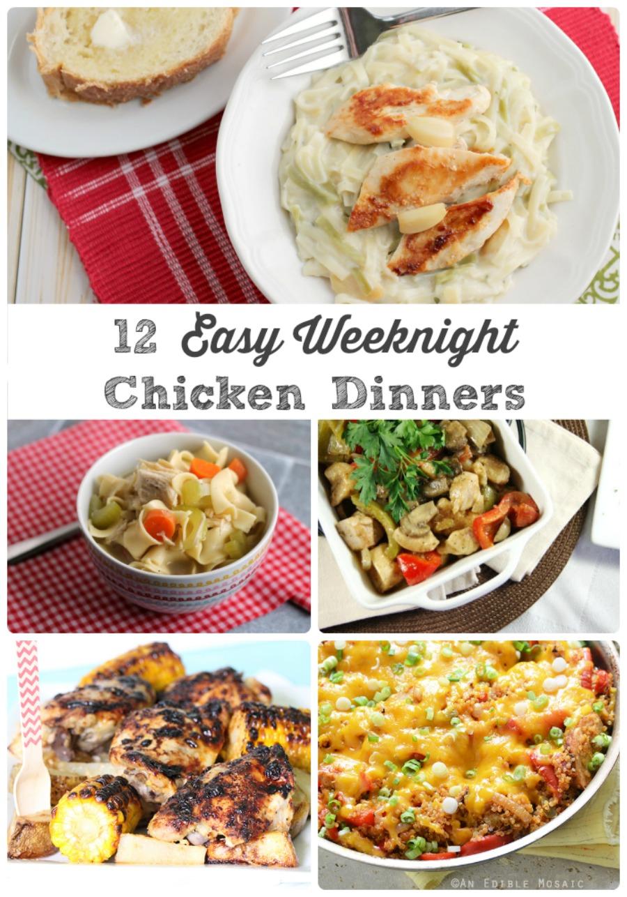 Frugal Foodie Mama: 12 Easy Weeknight Chicken Dinners