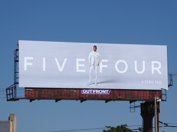 Five Four Chris Paul Spring 2017 billboard