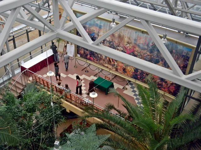 palmiarnia, Zielona Góra, lubuskie, ekspozycja