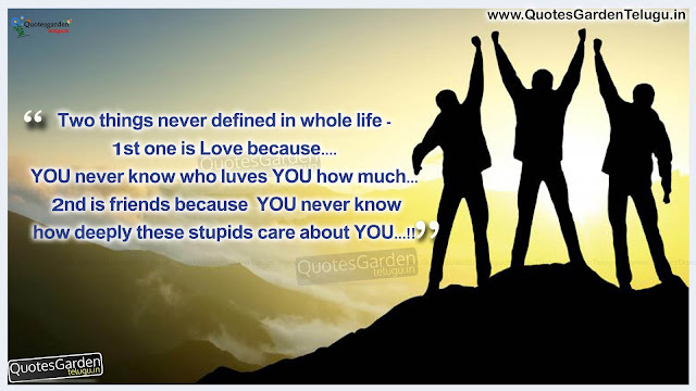 heart touching Friendship Love quotes with hd wallpapers