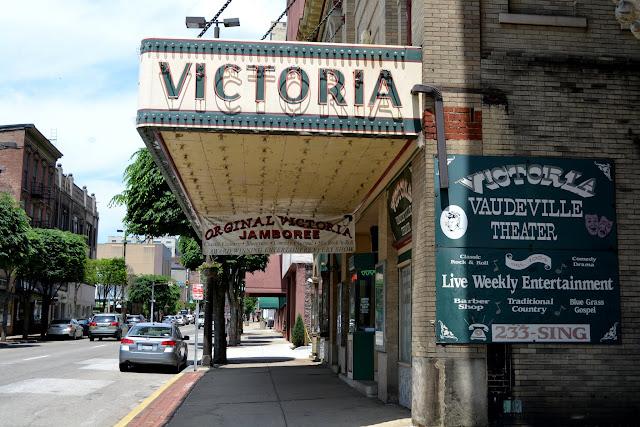 театр Вікторія, Вілінг, Західна Вірджинія (Theater Victoria, Wheeling, West Virginia)