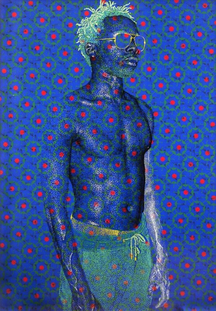 Мозаичный фон и графические узоры. Evans Mbugua