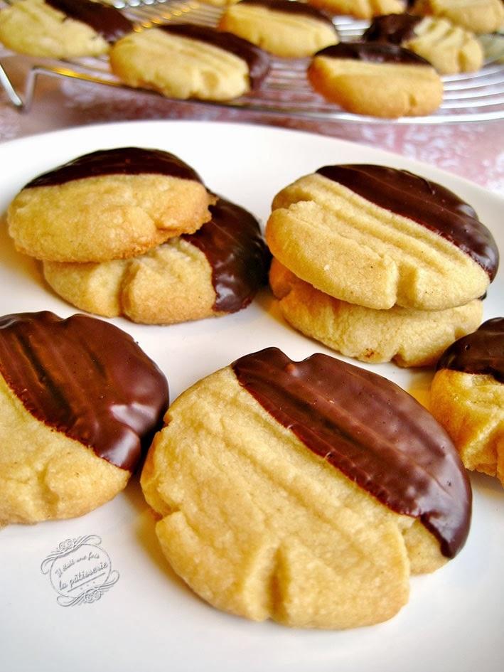 Sablés Chocolat Cannelle En Patte De Chat Il était Une Fois La