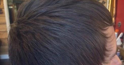 gambar rambut pendek pria sasak sisir maju
