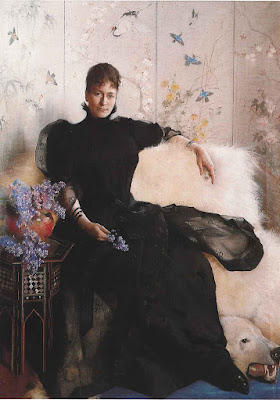 Portrait d'Elisabeth Fearnley (1892), Asta Norregaard