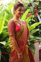 Actress Nikki Galrani Latest Pos in Saree Neruppu Da Movie Audio Launch  0022.jpg