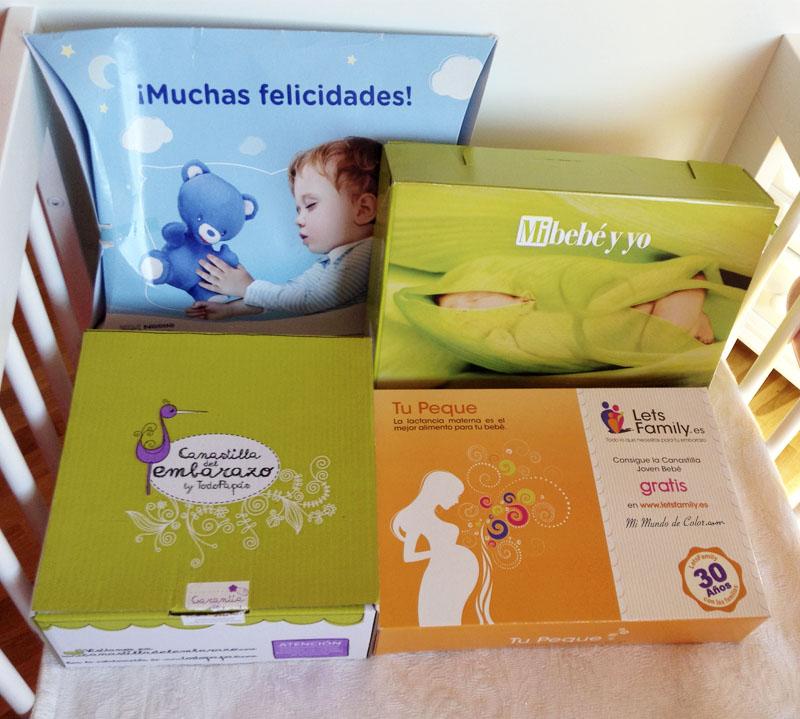 canastillas de muestras gratis para bebes solo en españa