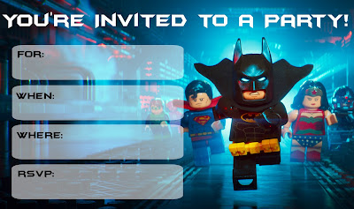 lego batman party ideas