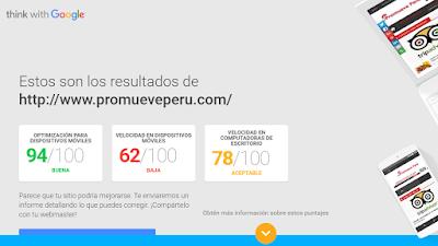 Herramienta de Google - optimizado para móviles